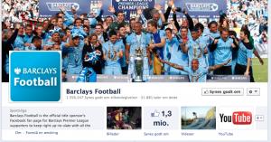 Barclays Facebook page
