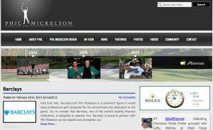 Barclays Phil Mickelson sponsorship