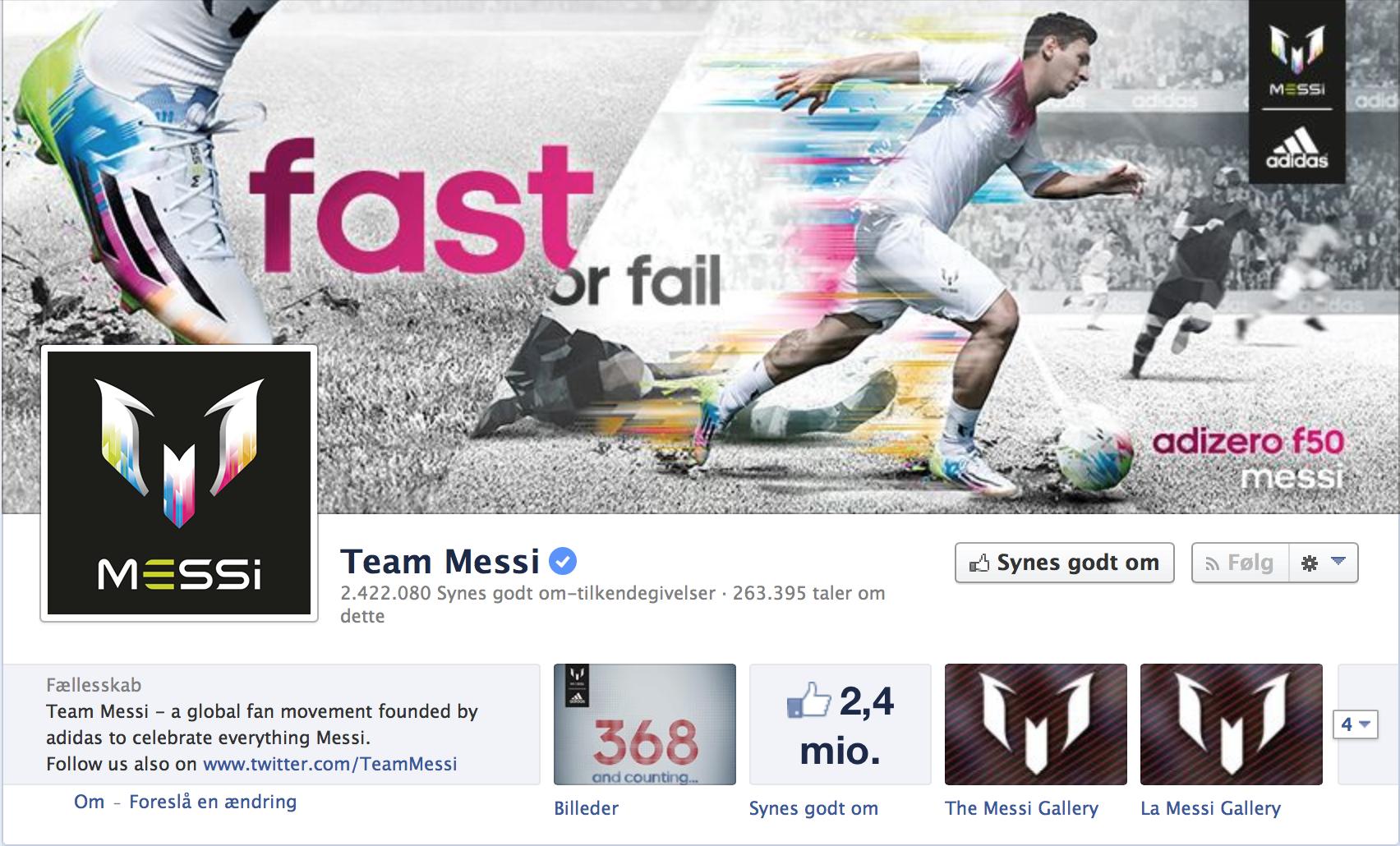 Messi Football Adidas Fifa World Cup 2014 And Hybrid Sportsbranding