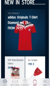 FC Bayern New in Store